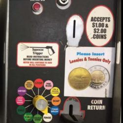 Airdrie Diamond View Car Wash Accept Coin